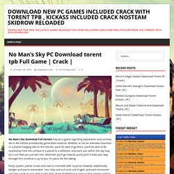 No Man's Sky PC Download torent tpb Full Game