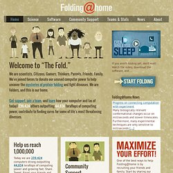 Folding@home - Download the Folding@home software application