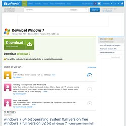 Download Windows 7 - latest version