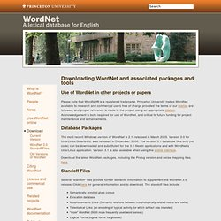 Download - WordNet - Download