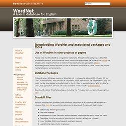 Download -WordNet - Download