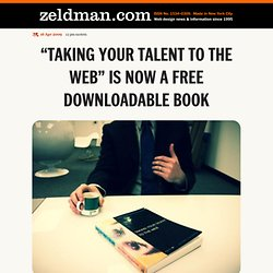 """Taking Your Talent to the Web"" is now a free downloadable book"