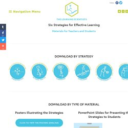 Downloadable Materials — The Learning Scientists