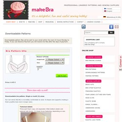 Downloadable Patterns Archives - Make Bra — Make Bra