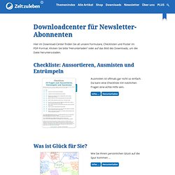 Downloadcenter für Newsletter-Abonnenten