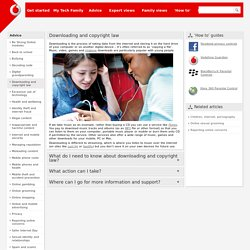 Downloading and copyright law - Vodafone