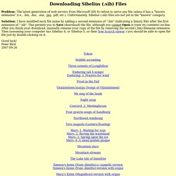 Downloading Sibelius (.sib) Files
