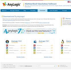 Download and Try AnyLogic!