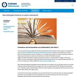 Beoordelingsformulieren en andere downloads