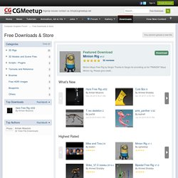 Free Downloads & Store - Computer Graphics Forum