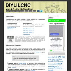 Downloads « DIYLILCNC