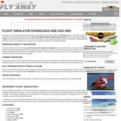 Free Downloads for FSX, FS2004 & X-Plane - Flight Simulator Add-ons