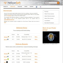 Downloads - Helicon SoftHelicon Soft