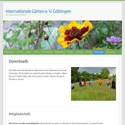 Internationale Gärten e. V. Göttingen