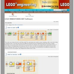 Downloads | LEGO MINDSTORMS NXT Software | Code