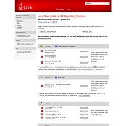 -[Java offline downloads]-