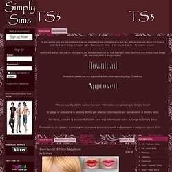 Downloads - Simply Sims