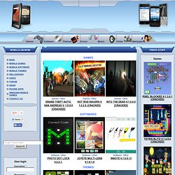 Free mobile downloads - mobile games mobile software mobile themes ...