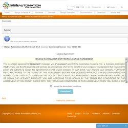 Downloads - Summary - Mango Automation 2.5.0 Full Install