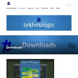 Downloads – tekhnologic