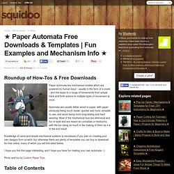 ★ Paper Automata Free Downloads & Templates