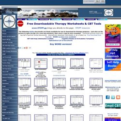 Free Downloads - Therapy Worksheets