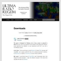 Ultima Ratio Regum: The Roguelike