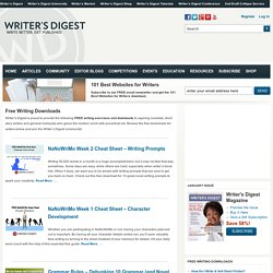 FREE Writing Downloads: Exercises, Prompts & Advice!
