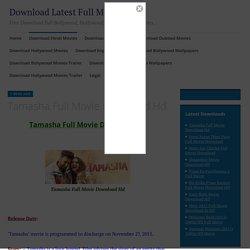 downloadyaar - Tamasha Full Movie Download Hd