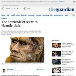 The downside of sex with Neanderthals