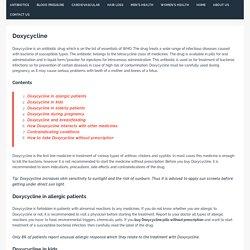 Doxycycline >>> Buy Doxycycline Online