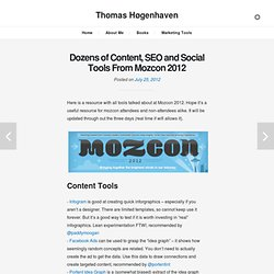 Thomas Høgenhaven: Online Marketing From A Research Perspective