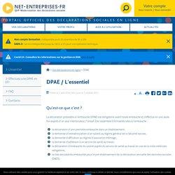 DPAE - net-entreprises.fr