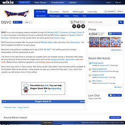 DQVC - Dragon Quest Wiki