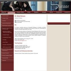 Dr. Dalia Haroun