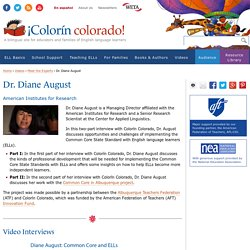 Dr. Diane August