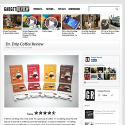 Dr. Drip Coffee Review