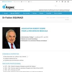 Dr Fabien SQUINAZI - ASPEC