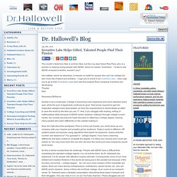 Dr. Hallowell's Blog