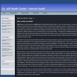 Dr. Jeff Health Center