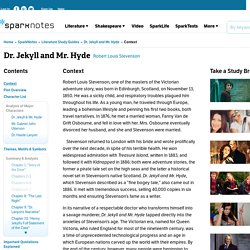 Dr. Jekyll and Mr. Hyde: Context