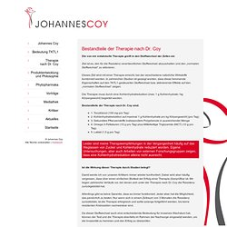 Dr. Johannes Coy