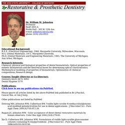 Dr. Johnston's Bio