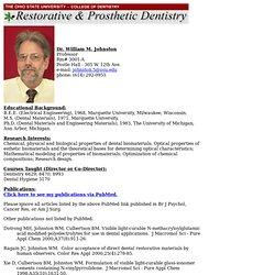 Dr. Johnston's Bio