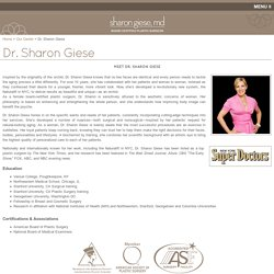 Dr. Sharon Giese