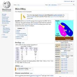 HLA-DR15 - Wiki