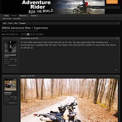 DR650 Adventure Bike / Supermoto