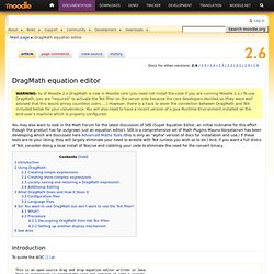 DragMath equation editor