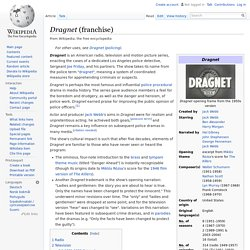 Dragnet (franchise)