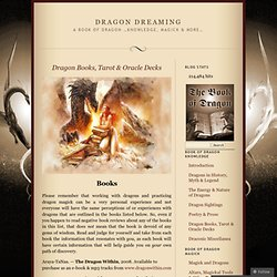 Dragon Books, Tarot & Oracle Decks